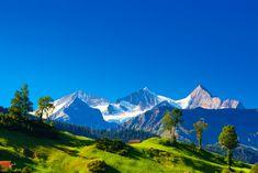 Gebirge Landschaftsmalerei Schweiz Alpen Natur