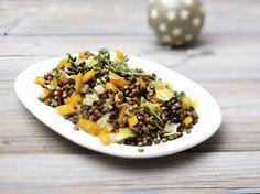 Balsamico-Linsen mit Gemüsewürfeln Rezept | LECKER