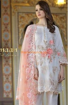 CHARIZMA Light Party Wear And Formal Wear at Retail and whole sale prices at Pakistan's Biggest Replica Online Store Light Party Wear And Formal Wear at Retail and whole sale prices at Pakistan's Biggest Replica Online Store Wedding Dress Trends, Best Wedding Dresses, Designer Wedding Dresses, Bridal Dresses, New Pakistani Dresses, Pakistani Dress Design, Pakistani Designers, Maria B Bridal, Dress Collection