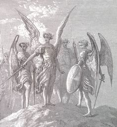 angels with swords