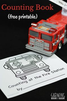 Oodles of FREE Literacy Printables A free printable book to work on counting and writing numbers with a fire station theme. Perfect for Fire Prevention Week or any little fire truck lover. Preschool At Home, Preschool Learning, Preschool Ideas, Preschool Fire Safety, Kindergarten Themes, Free Preschool, Preschool Classroom, Preschool Crafts, Kids Crafts