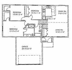 """"""" The Basswood III-2 """" Progressive Builders Popular Floor Plans"""