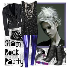 """Glam Rock"" by helena99 on Polyvore"