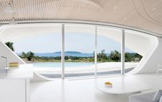 This Futuristic Greek Home is What Dreams Are Made Of - UltraLinx