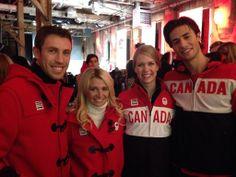 Canadian Olympic team Sochi uniforms