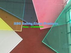 Looking top quality & multi colour toughened and laminated glass in South Africa? Choose RSG Safety Glass for all types of multi laminated glass needs. Laminated Glass, Cape Town South Africa, Safety Glass, Tile Floor, Colour, Top, Color, Tile Flooring, Crop Tee
