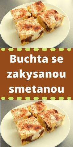 Czech Recipes, Sweet Tooth, French Toast, Food And Drink, Sweets, Baking, Breakfast, Cake, Morning Coffee