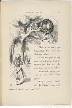 Aventures d'Alice au pays des merveilles, Lewis Carroll, illustré par John Tenniel, Macmillan and co, 1869