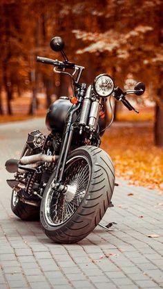 Harley Davidson News – Harley Davidson Bike Pics Softail Bobber, Bobber Bikes, Bobber Motorcycle, Cool Motorcycles, Motorcycle Garage, Harley Davidson Softail Slim, Harley Davidson Chopper, Harley Davidson Motorcycles, Moto Fest