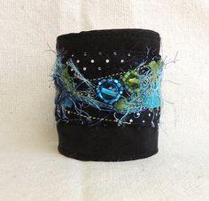 Fabric bracelet by Montse on Etsy