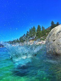 King's Beach Lake Tahoe-- North shore-- Palms to Pines