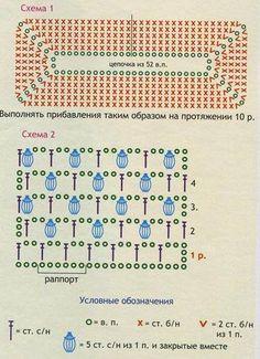 Crochet basket pattern rectangle granny squares 23 ideas - Her Crochet Crochet Baby Dress Pattern, Crochet Motif Patterns, Crochet Box, Crochet Dollies, Crochet Basket Pattern, Crochet Diagram, Crochet Designs, Crochet Chart, Crochet Granny