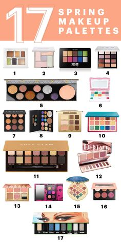 17 New Makeup Palettes You Need to Try This Spring