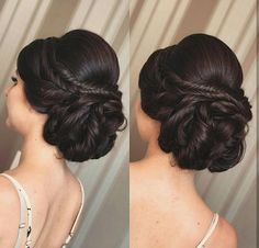 Gorgeous Half up - Half Down Hairstyles for your Wedding Day Quince Hairstyles, Indian Wedding Hairstyles, Crown Hairstyles, Elegant Hairstyles, Bride Hairstyles, Bridesmaid Hair, Prom Hair, Bridal Hair Buns, Hair Due