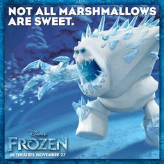 Meet Marshmallow from Disney's Frozen. In theatres November 27.