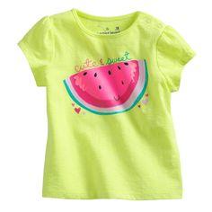 US $4.69 Summer Girls T shirt Brand Jumping beans Children Clothes Lemon Green Watermelon T shirts for Girls Kids Tees Tops aliexpress.com