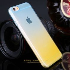 Promotions ! Phone Cases for Apple iPhone 5 5s Case Transparent Gradient Color Design TPU Silicon Phone Covers Shell Top Quality