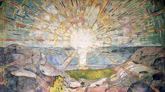 The Sun, Edvard Munch.