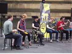 The Bicycle Orchestra, shared by @PackhorseGaller