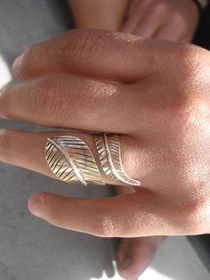 pluma anillo
