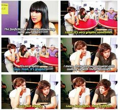HAHAHHAHAH OMG. THEY READ THOSE??? lolololololololol. please tell me Louis has read Room 317. i would die. of happiness. <3