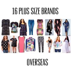 16 Plus Size Brands Overseas – Everything Curvy and Chic
