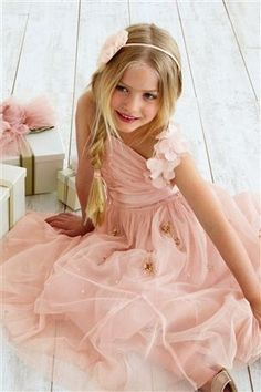 Buy Pink Occasion Dress (3-14yrs) from the Next UK online shop
