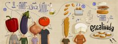 One Million Post-its: Illustrated Recipes - More Appealing, More Appetizing