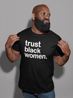 New Trust Black Women Unisex Tshirt | Etsy Baby Hai, Game Of Thrones Men, Tactical Shirt, Tactical Clothing, Jersey Shorts, Short Sleeve Tee, Funny Tshirts, Black Women, Student
