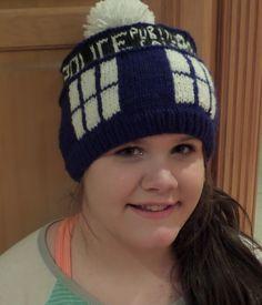 Ravelry  TARDIS hat pattern pattern by Kristin Tefft Doctor Who Crochet a55439debd73