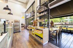 Bakers bakery by Studio 180, Tel Aviv   Israel -Love this new bakery in Shenkin