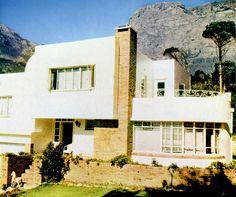"""""""Modern""""house in Oranjezicht 1951."""