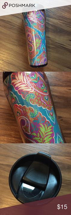 NWT Vera Bradley Travel Mug, Paisley in Paradise NWT Vera Bradley Travel Mug, Paisley in Paradise. Great for on the go! Brand new with tag. Vera Bradley Accessories