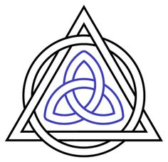 La lumière de Dieu: Les symboles chrétiens Le triquetra