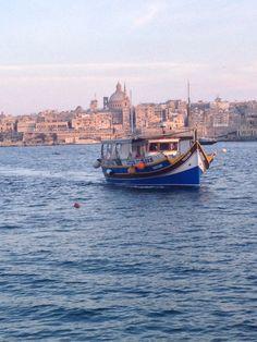 Beautiful Marsamxett Harbour #Mediterranean #sunset #wanderlust