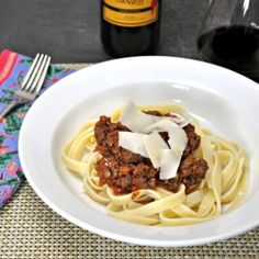 Authentic Italian Ragù - Recipe from a cooking class in Tuscany.