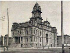 Allen County Courthouse - Lima Ohio - 1901