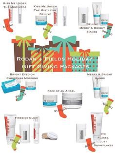 Rodan+Fields Holiday Gift Giving Packages