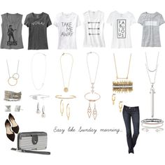 Easy like Sunday morning!  Shop www.stelladot.com/jenniferfedrigo and get these looks today.