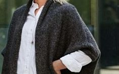Stricke eine lässige Jacke aus kuschelig weicher Wolle.