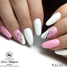 54 Simple Spring Nail Designs for Short Nails and Long Nails - The First-Hand Fashion News for Females Short Nail Designs, Nail Designs Spring, Simple Nail Designs, Nail Art Designs, Manicure Nail Designs, Nail Manicure, Manicure Ideas, Gel Nail Art, Nail Polish