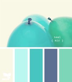 Teal Air color palette by Design Seeds Colour Pallette, Colour Schemes, Color Combos, Beach Color Schemes, Good Color Combinations, Color Patterns, Design Seeds, Bedroom Colors, Bedroom Green