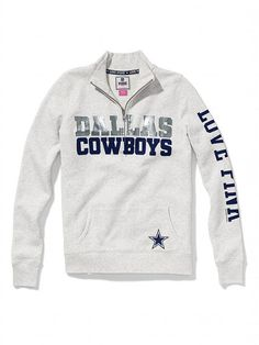 Victoria's Secret PINK Dallas Cowboys Half-Zip Pullover #VictoriasSecret http://www.victoriassecret.com/clearance/pink-loves-the-nfl/dallas-cowboys-half-zip-pullover-victorias-secret-pink?ProductID=87253=CLR?cm_mmc=pinterest-_-product-_-x-_-x