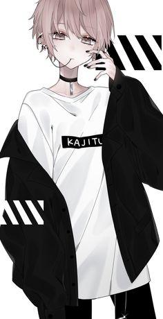 Hot Anime Boy, Dark Anime Guys, Cool Anime Guys, Handsome Anime Guys, Anime Boys, Manga Kawaii, Chica Anime Manga, Kawaii Anime Girl, Anime Art