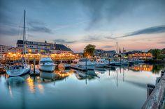 Salem Waterfront  Salem, Massachusetts