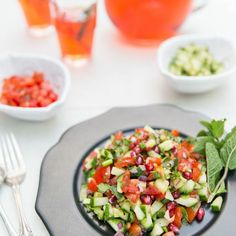 Bejeweled Kachumber Salad Recipe on Food52 recipe on Food52