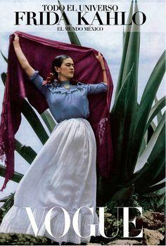 Vogue publica libro sobre Frida Kahlo Lo quieroo!!!