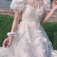 Pretty Outfits, Pretty Dresses, Beautiful Dresses, Elegant Dresses, Fairytale Dress, Fairy Dress, Fairytale Fashion, Ball Dresses, Ball Gowns