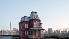"""British artist Cornelia Parker gives some background on her Hitchcock-influenced """"Transitional Object (PsychoBarn),"""" currently installed on the rooftop of The Metropolitan Museum of Art. More: http://www.metmuseum.org/exhibitions/listings/2016/cornelia-parker"""