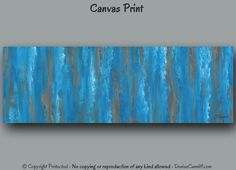 Extra Large abstract wall art for blue & brown office or home decor by Denise Cunniff - ArtFromDenise.com. View more info at https://www.etsy.com/listing/202206036/office-decor-extra-large-wall-art